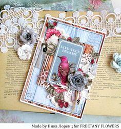 Freetany Flowers: 5 Париж. Обзор цветов Freetany Flowers от Оли Мокшановой