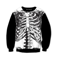 Skeleton Sweatshirt from Beloved Shirts