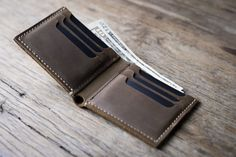 Big Texas Wallet handmade PERSONALIZED wallet Manly by JooJoobs