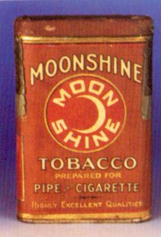Moonshine Tobacco Prepared For Pipe and Cigarette