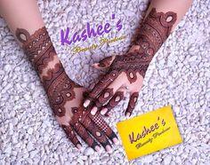 Kashee's Mehndi Designs, Cute Henna Designs, Latest Bridal Mehndi Designs, Mehndi Designs For Girls, Mehndi Designs For Beginners, Mhndi Design, Hand Henna, Henna Mehndi, Kashees Mehndi