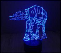 Star Wars Lamp Star Trek Spacecraft 3d Lamp Led Novelty Night Lights Usb Light Glowing Childrens Gift Hui Yuan Brand Fine Workmanship Lights & Lighting Led Lamps