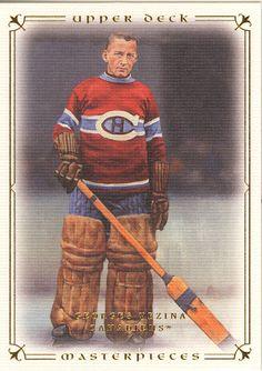 Georges Vézina   Engagé par les Canadiens à l aube de la saison 1910- dcc475234