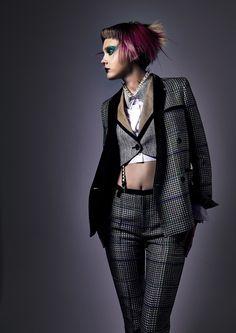 Elegant Punk by Munenari Maegawa, via Behance