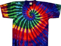 spiral extreme tie dye shirts