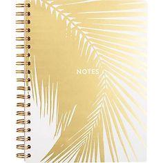 Gold Palm Leaf Journ