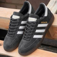 e01acbd3e06f 80s Casual Classics Retro Favourites · adidas Spezial in Grey-White a great  re-issue release soon to sell-