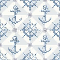 gold anchor nautical background - Google Search