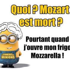 Mozart dans mon frigo ?!