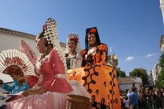 Amazing outfits at the Feria Goyesca in Ronda, which takes place on 6-9 September this year. #spain #ferias