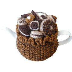 ❥Knit Tea Cosies, Mug Hug Snugs and Cuppa Cosies.    Mmmm  Chocolates   ❥