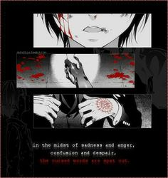 ▲_■_Anime Quote ▲_■_ Anime / Manga : Kuroshitsuji /Black Butler