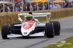 The Toleman-Hart car with which Ayrton Senna made his Formula 1 debut has been put up for sale, for million. Le Mans, Stefan Johansson, Alain Prost, Monaco Grand Prix, Goodwood Festival Of Speed, F1 Drivers, Vintage Photos, David, Sport