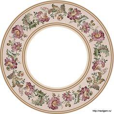 Clock Face Printable, Molduras Vintage, Elegant Table Settings, Clock Art, Mirror Painting, Decoupage Paper, Vintage Labels, Flower Frame, Art Plastique