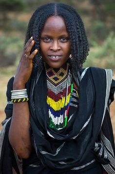 Africa | Borana woman. Yabelo, Ethiopia | ©Eric Lafforgue