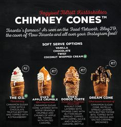 The new line up of chimney cones created by Eva's Original Chimneys in Canada.