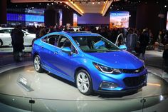 2016 #Chevy #Cruze at #NAIAS 2016, the #Detroit Auto Show