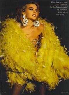 British Vogue 1990