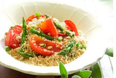 couscous salad with baked tomatoes and asparagus - and a lot of other GORGEOUS and fairly fancy Rosh Hashanah recipes.  Not this year, but maybe some day when i do not have a toddler  :)