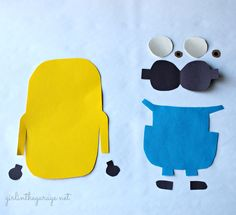 Make your own minion - great kids craft!