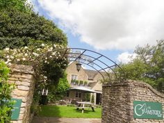 Entrance to The Gumstool Inn, the pub at Calcot Manor Hotel in The Cotswolds http://www.calcotmanor.co.uk/dining-at-calcot/the-gumstool/