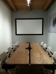 Elm Slab Conference Table_2 by vimana17 on Etsy, $7000.00