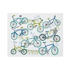 bicycles and bunting... how dear!