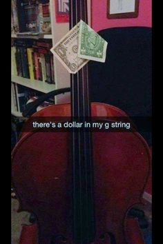 You had me at cello // funny pictures - funny photos - funny images - funny pics - funny quotes - Funny Meme Pictures, Funny Quotes, Funny Memes, Humor Quotes, Hilarious Jokes, It's Funny, Stupid Memes, Funny Videos, Music Jokes