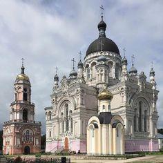 The Kazan Convent. City Vyshny Volochek, Tver Region, Russia.