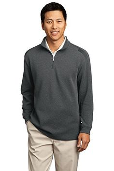 Nike Golf  Heather CoverUp  Black Heather Black 392394 L -- More info could be found at the image url. Note:It is Affiliate Link to Amazon.