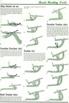 learn how to crochet with these simple step by step instructions for rh pinterest com crochet diagram for beginners pdf All Crochet Stitches with Diagrams