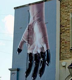 Street Art NYC in Bristol: Sepr, Nick Walker, Banksy, Philth, N4T4, Jody Thomas, Epok and Soker