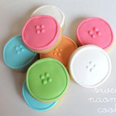 (Cute As A) Button Cookies