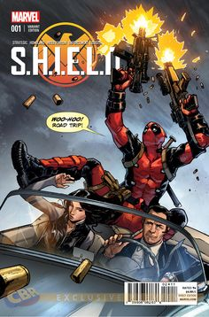 """Images for : EXCLUSIVE: Young Guns """"SHIELD"""" #1 Variants in Living Color - Comic Book Resources"""