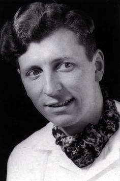 A young Tom Baker, pre-Doctor Who.