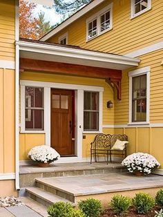 Awesome Small Front Porch Design Ideas (11) | Curb Appeal ...