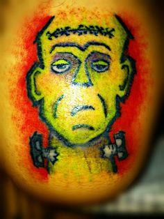 Tattoo done by Caña Make #tattoo #tattoos #terror