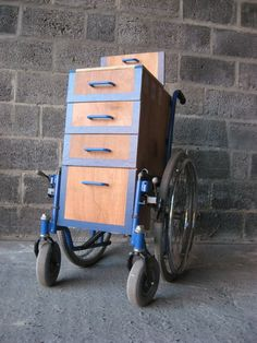 Picture of wheelchair workstation