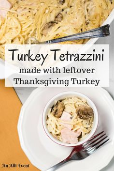 When Thanksgiving hands you leftover turkey, make Turkey Tetrazzini! It's easy to make and a family fave. #GiveThanksBeFull #ad   @Target