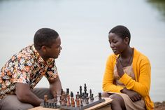Queen of Katwe starring Madina Nalwanga and David Oyelowo
