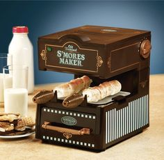 I wonder what would happen to a person who ate nothing but s'mores. I'd find out if I owned this.