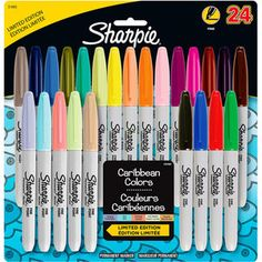 Sharpie Permanent Markers Fine Point - Assorted Colors - 24 Count  Normal kind vs. ultra fine point?
