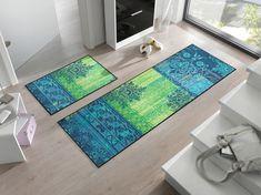 #Fußmatte wash+dry Borda green