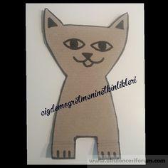 Karton kedi yavruları - Okul Öncesi Etkinlik Kaynağınız