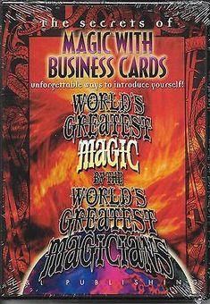 Cool Internet business service 2017: BUSINESS CARDS MAGIC TRICKS DVD GUASTAFERRO NANACHEK CLOSE Collectibles:Fantasy,... Internet Auction Services LLC Check more at http://sitecost.top/2017/internet-business-service-2017-business-cards-magic-tricks-dvd-guastaferro-nanachek-close-collectiblesfantasy-internet-auction-services-llc/