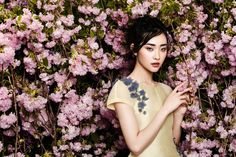 flowers fashion zhang jingna phuong my6 FGR Exclusive | Kwak Ji Young by Zhang Jingna in Flowers Bloom