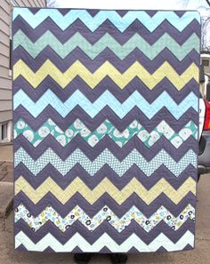 another zig zag quilt