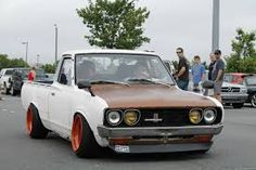 Image result for stanced datsun 620