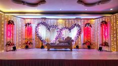 A splendid reception stage decor to celebrate your best moments! Decor by Shribha Reception Stage Decor, Wedding Backdrop Design, Wedding Stage Design, Wedding Reception Backdrop, Wedding Mandap, Wedding Receptions, Wedding Poses, Engagement Stage Decoration, Wedding Hall Decorations