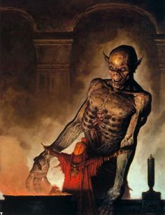 Fantasy Art of Brom Darkest artist of Fantasy